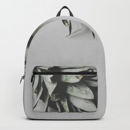 Pineapple on a white background on a table / 53 Backpack