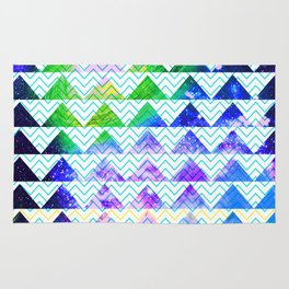 space mountains Rug