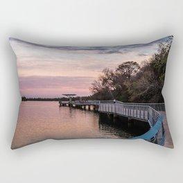 The Boardwalk at Lady Bird Lake Rectangular Pillow
