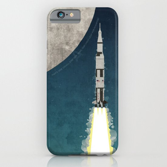 Apollo Rocket iPhone & iPod Case