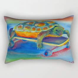 Turtle Dude Rectangular Pillow