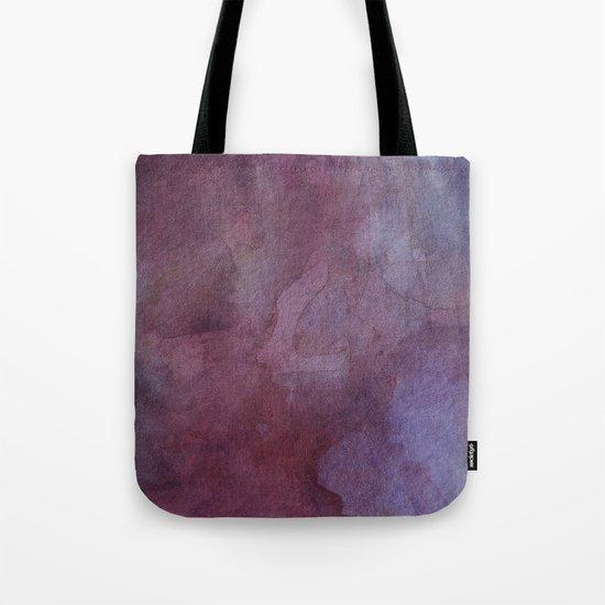 Purple Watercolor Nebula Galaxy Sky Tote Bag