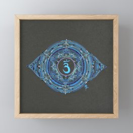 Third Eye Chakra Framed Mini Art Print