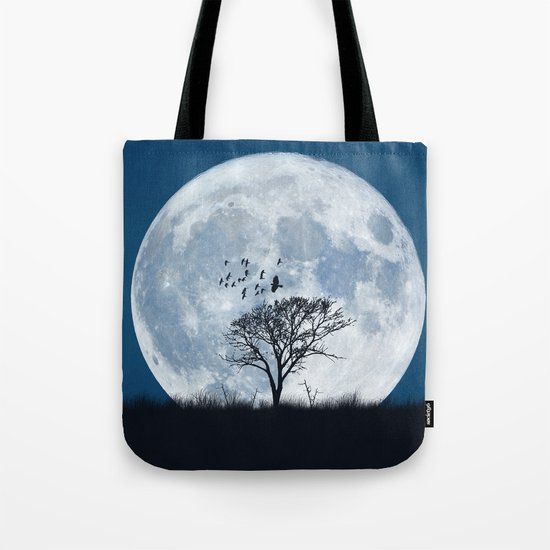 When the moon speaks (part IV) Tote Bag