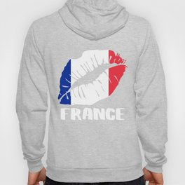 FRA France Kiss Lips Tee Hoody