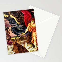 The Storm of Spirits by Evelyn De Morgan Stationery Cards