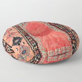 Sivas  Antique Cappadocian Turkish Niche Kilim Print Floor Pillow