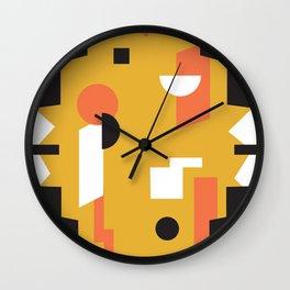 Techno Thunder Wall Clock
