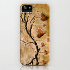 Der Liebesbaum (in Acryl) Slim Case iPhone (5, 5s)