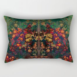 """Sci-fi Spring Still Life"" Rectangular Pillow"