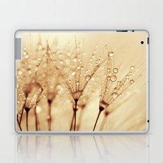 droplets of liquid gold Laptop & iPad Skin