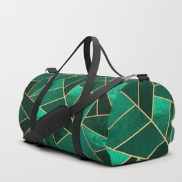 Emerald and Copper Duffle Bag