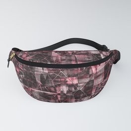 Abstract grunge. 3 Fanny Pack