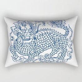 Chinese Kylin Rectangular Pillow