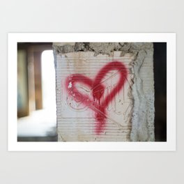 Love the Abandoned Art Print