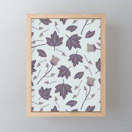 Waterleaf (Heather) Framed Mini Art Print