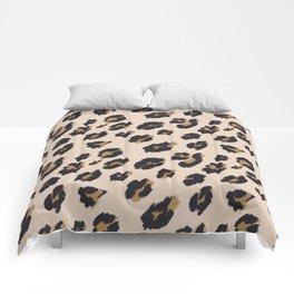 B&B Leopard Design Comforters