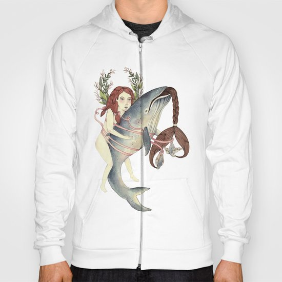 Ribbons Whale Hoody