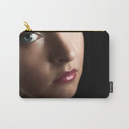Sad Woman Carry-All Pouch