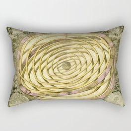 Antique Geometric Univers Zodiac Sign & Planet Rectangular Pillow