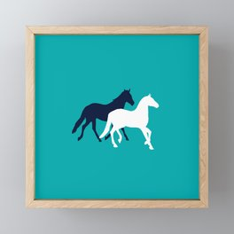 Horse Framed Mini Art Print