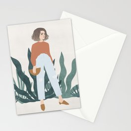 les mules Stationery Cards