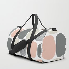 Wonky Ovals in Pink Duffle Bag