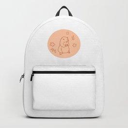 Prairie Dog and Flowers Backpack