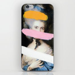 Brutalized Gainsborough 2 iPhone Skin