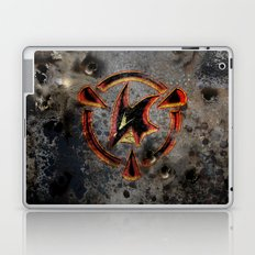 Red: Logo Laptop & iPad Skin