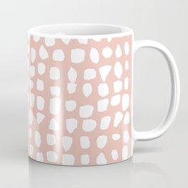Dots / Pink Coffee Mug