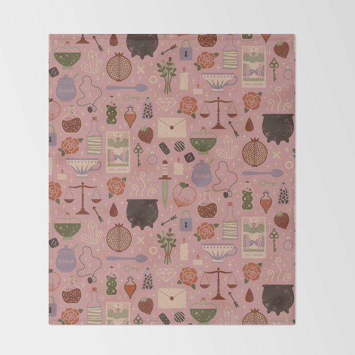 Love Potion Throw Blanket