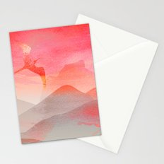 Gliding in Rio's sky. Stationery Cards