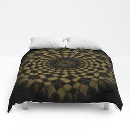Golden Funnel Comforters