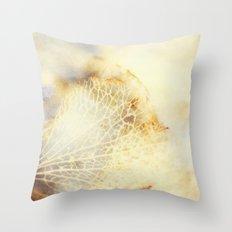 Hydrangea Dreams - JUSTART © Throw Pillow