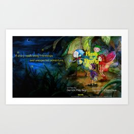 Flash the Firefly Art Print