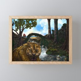 The Jaguar Guardian Framed Mini Art Print