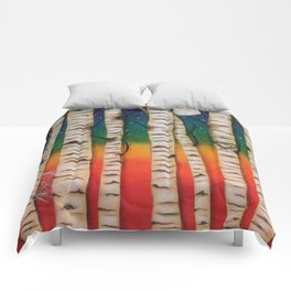CHAKRA RAINBOW FOREST Comforters