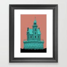 empty lighthouse Framed Art Print
