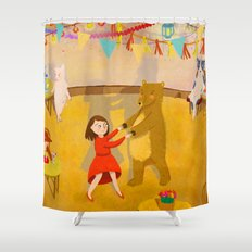 Forest Prom Shower Curtain