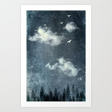The cloud stealers Art Print
