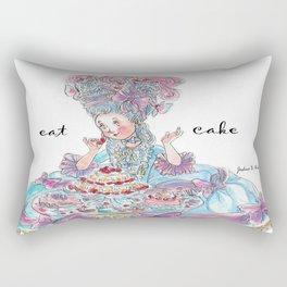 Marie Antoinette: Eat Cake Rectangular Pillow