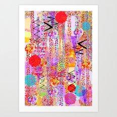 Dance Dots Art Print
