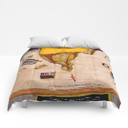 Below the waist Comforters