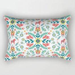 Swedish Folklore Rectangular Pillow