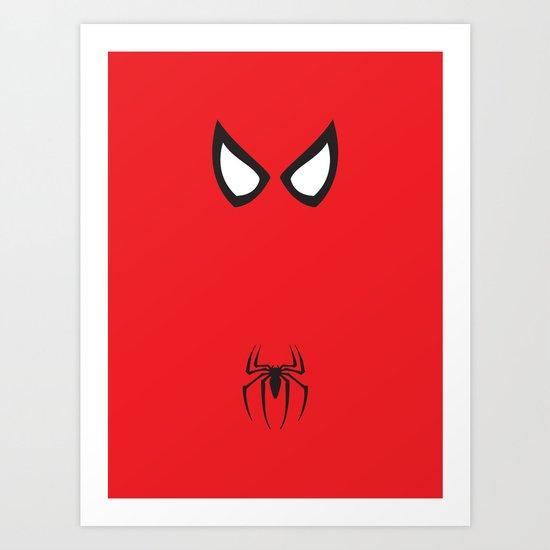 Spider-Man Minimalist Art Print
