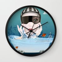 3d Wall Clocks featuring 3D by mark ashkenazi