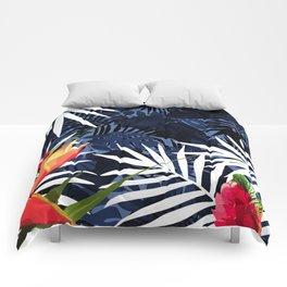 Bold Tropical Paradise Design Comforters