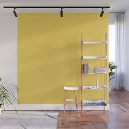 Sunshine Yellow - Solid Color Collection Wall Mural