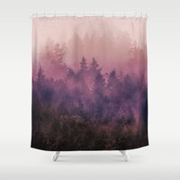 country Shower Curtains featuring The Heart Of My Heart by Tordis Kayma